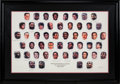 Basketball Collectibles:Others, 1996 NBA's 50 Greatest Players Signed Lithograph....