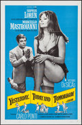 """Movie Posters:Foreign, Yesterday, Today and Tomorrow (Embassy, 1964). One Sheet (27"""" X 41""""). Foreign.. ..."""