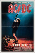 "Movie Posters:Rock and Roll, AC/DC: Let There Be Rock (Warner Brothers, 1982). One Sheet (27"" X41""). Rock and Roll.. ..."