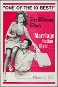 """Movie Posters:Foreign, Marriage Italian-Style & Other Lot (Embassy, 1964). One Sheets (2) (27"""" X 41""""). Foreign.. ... (Total: 2 Items)"""