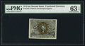 Fractional Currency:Second Issue, Fr. 1244 10¢ Second Issue PMG Choice Uncirculated 63 EPQ.. ...
