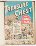 Golden Age (1938-1955):Non-Fiction, Treasure Chest V1#1-6 Bound Volume (George A. Pflaum, 1946)....