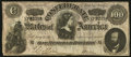 """Confederate Notes:1864 Issues, CT65/491 """"Havana Counterfeit"""" $100 1864.. ..."""