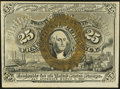 Fractional Currency:Second Issue, Fr. 1284 25¢ Second Issue About New.. ...