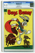 Golden Age (1938-1955):Cartoon Character, Bugs Bunny #30 File Copy (Dell, 1953) CGC NM- 9.2 Off-white pages.Overstreet 2005 NM- 9.2 value = $75. CGC census 3/06: 3 i...