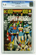Bronze Age (1970-1979):Superhero, DC 100-Page Super Spectacular #6 (DC, 1971) CGC NM 9.4 Off-white to white pages. Neal Adams wraparound cover depicts every m...