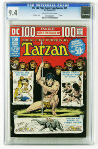DC 100-Page Super Spectacular #19 (DC, 1973) CGC NM 9.4 Off-white to white pages. Joe Kubert Tarzan cover. Overstreet 20...