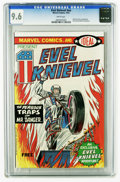 Bronze Age (1970-1979):Miscellaneous, Evel Knievel #nn (Marvel, 1974) CGC NM+ 9.6 White pages. Ideal Toypromotional giveaway. Evel Knievel photo frontispiece. Ov...