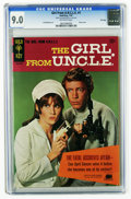 Silver Age (1956-1969):Adventure, Girl From U.N.C.L.E. #1 File Copy (Gold Key, 1967) CGC VF/NM 9.0. Stephanie Powers front and back photo covers and pin-ups. ...