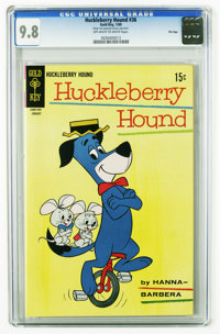 Huckleberry Hound #36 File Copy (Gold Key, 1969) CGC NM/MT 9.8 Off-white to white pages. Overstreet 2005 NM- 9.2 value =...