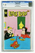 Modern Age (1980-Present):Humor, Little Lulu #261 File Copy (Whitman, 1980) CGC VF- 7.5 Off-white towhite pages. Distributed in multi-packs only. Overstreet...