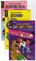 Bronze Age (1970-1979):Cartoon Character, Scooby Doo Bronze Age Group (Gold Key, 1970-73) Condition: AverageVF. This group contains issues #3, 6, and 20 (two copies)...(Total: 4 Comic Books)