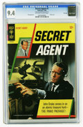 Silver Age (1956-1969):Adventure, Secret Agent #1 File Copy (Gold Key, 1966) CGC NM 9.4 Off-white to white pages. Only three copies of this issue have earned ...