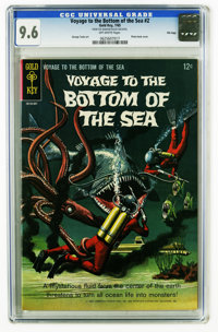 Voyage to the Bottom of the Sea #2 File Copy (Gold Key, 1965) CGC NM+ 9.6. George Tuska art. Photo back cover. Overstree...