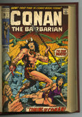 "Bronze Age (1970-1979):Miscellaneous, Conan the Barbarian Bound Volume #1-16 (Marvel, 1970-72). In 1970Barry Windsor-Smith introduced Marvel readers to a ""new"" h..."
