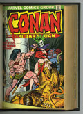 Bronze Age (1970-1979):Miscellaneous, Conan the Barbarian Bound Volume #33-48 (Marvel, 1973-75). Thisbound volume features: #33, 34, 35, 36, 37 (Neal Adams art),...