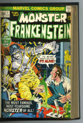 Bronze Age (1970-1979):Horror, Frankenstein Bound Volume #1-16 (Marvel, 1973-75). One year afterTomb of Dracula was released, Marvel launched the Fr...
