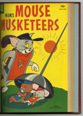 Silver Age (1956-1969):Cartoon Character, M.G.M's Mouse Musketeers #8-19 Bound Volume (Dell, 1957-59).Attractive Western Publishing file copies that have been bound ...