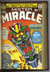 Mister Miracle Bound Volume #1-16 (DC, 1971-73). Super escape artist, Mister Miracle is the subject of this bound volume...