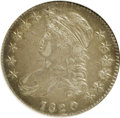 Bust Half Dollars, 1820 50C Curl Base 2, Small Date XF45 NGC. O-103a. NGC Census:(36/532). PCGS Population (17/96). Mintage: 751,122. Numisme...