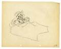 "Original Comic Art:Miscellaneous, Walt Disney Studios - ""The Big Bad Wolf"" Animation ProductionDrawing Original Art (Disney, 1934). ""My, what big eyes you ha..."