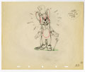 "Original Comic Art:Miscellaneous, Walt Disney Studios - ""The Country Cousin"" Animation ProductionDrawing Original Art (Disney, 1936). Monty, an urban mouse r..."