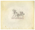 "Original Comic Art:Miscellaneous, Walt Disney Studios - ""The Three Blind Mouseketeers"" AnimationProduction Drawing Original Art (Disney, 1936). The three tit..."