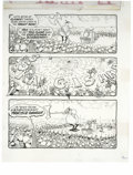 """Original Comic Art:Complete Story, Don """"Duck"""" Edwing - Mad #287 and 291 Page Original Art, Group of 4 (EC, 1989). Devilish Duck Edwing serves up four great gag... (Total: 4 Items)"""