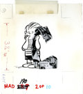 Original Comic Art:Sketches, Arnoldo Franchioni - Mad #190 Illustration Original Art, Group of 11 (EC, 1977). This way-out group lot showcases eleven out... (Total: 11 Items)