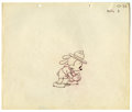 "Original Comic Art:Miscellaneous, Walter Lantz Studios - ""Oswald the Lucky Rabbit"" AnimationProduction Drawing Original Art (Universal, 1930s). Oswald wascr..."