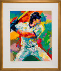 "Baseball Collectibles:Others, 2014 ""Mike Piazza"" LeRoy Neiman Signed Serigraph...."