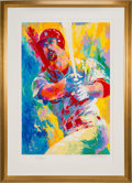 "Baseball Collectibles:Others, 1999 ""Mark McGwire"" Signed LeRoy Neiman Serigraph...."