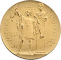 Miscellaneous Collectibles:General, 1912 Stockholm Summer Olympics Gold Medal....