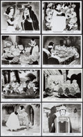 """Movie Posters:Animation, Snow White and the Seven Dwarfs (Buena Vista, R-1975/R-1987).Reissue Photos (17) (8"""" X 10""""). Animation.. ... (Total: 17 Items)"""