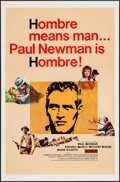 "Movie Posters:Western, Hombre (20th Century Fox, 1966). One Sheet (27"" X 41""). Western.. ..."