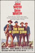 "Movie Posters:Western, The Sons of Katie Elder (Paramount, 1965). One Sheet (27"" X 41"") and Lobby Cards (2) (11"" X 14""). Western.. ... (Total: 3 Items)"