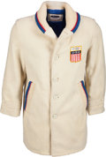 Olympic Collectibles:Autographs, 1964 Bill Christian Opening Ceremonies Wool Jacket. ...