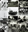 Books:Prints & Leaves, [U.S. Naval Academy]. Archive of Approximately Thirty-FivePhotographs and Press Prints Relating to The U.S. Naval Academy at...
