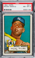 Featured item image of 1952 Topps Mickey Mantle #311 PSA NM-MT 8....