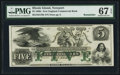 Obsoletes By State:Rhode Island, Newport, RI-New England Commercial Bank $5 18__ G76b Remainder. ...