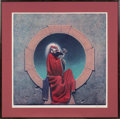 Music Memorabilia:Original Art, Grateful Dead Blues for Allah Art Print Signed by Philip Garris....