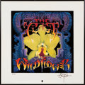 "Music Memorabilia:Posters, The Cult ""Wild Flower"" Print Signed by Artist Rick Griffin...."