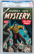 Golden Age (1938-1955):Horror, Journey Into Mystery #19 (Atlas, 1954) CGC VF 8.0 Cream tooff-white pages....