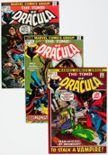 Bronze Age (1970-1979):Horror, Tomb of Dracula Near-Complete Series Group (Marvel, 1972-79)Condition: Average VF.... (Total: 69 Comic Books)