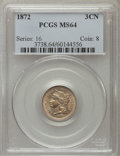 Three Cent Nickels: , 1872 3CN MS64 PCGS. PCGS Population (51/40). NGC Census: (48/24). Mintage: 861,000. Numismedia Wsl. Price for problem free ...