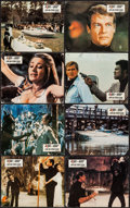 "Movie Posters:James Bond, Live and Let Die (United Artists, 1973). German Lobby Card Set of 12 (9.25"" X 11.5""). James Bond.. ... (Total: 12 Item)"