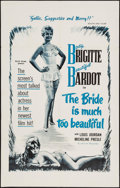 """Movie Posters:Foreign, The Bride is Much Too Beautiful (Ellis-Lax, 1958). One Sheet (29"""" X 46""""). Foreign.. ..."""
