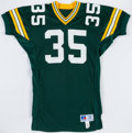 Football Collectibles:Uniforms, 1990 Michael Haddix Game Issued Green Bay Packers Jersey....