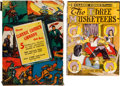 Golden Age (1938-1955):Classics Illustrated, Classic Comics Library Gift Box (Gilberton, c. 1945) Condition: Average FN/VF.... (Total: 6 Items)