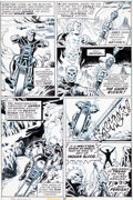 Original Comic Art:Panel Pages, Mike Ploog and Jim Mooney Marvel Spotlight #8 Page 26Original Art (Marvel, 1973)....